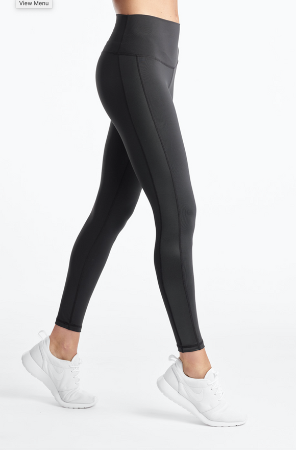 Define Your Inspiration Women's Luxe Shine Tight BLACK