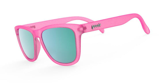 GOODR Running Sunglasses Flamingos on a Booze Cruise