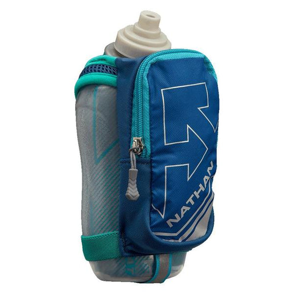 Nathan handheld water bottle