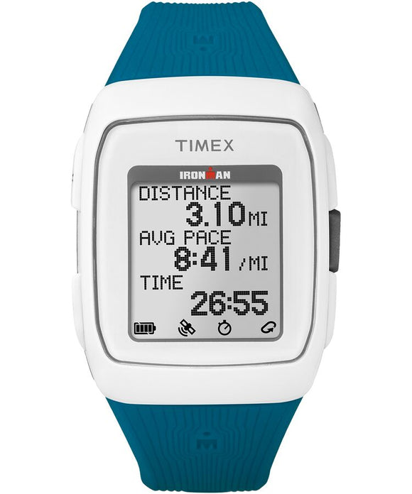 Timex Corporation Ironman GPS Blue/Wht