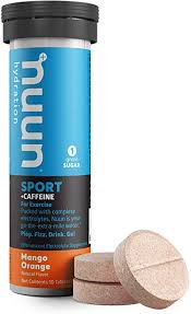 NUUN Active Energy 10 MANGO ORANGE