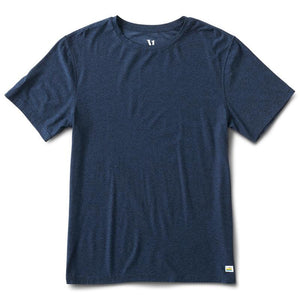 Vuori Clothing Men's Strato Tech Tee Navy