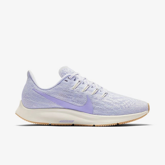Nike Inc. Women's Pegasus 36 Platinum/Purple/Ivory