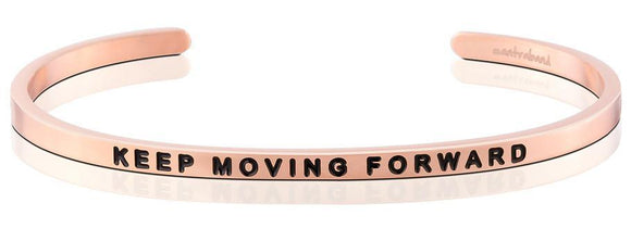 Mantra Band KEEP MOVING FORWARD ROSE GOLD