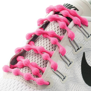 Caterpy Laces HOT PINK