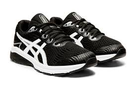 Asics Boys GT 1000 8 GS BLACK/WHITE