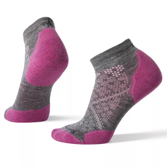 SmartWool PhD Lt Elite Low Cut Mauve