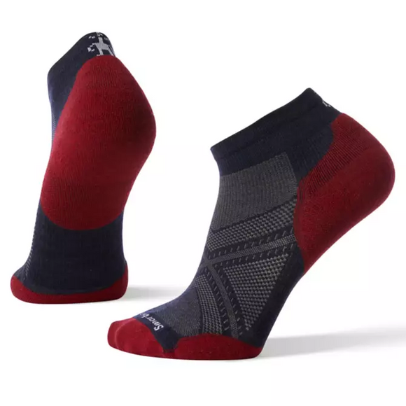 SmartWool PhD Lt Elite Low Cut Navy/Red