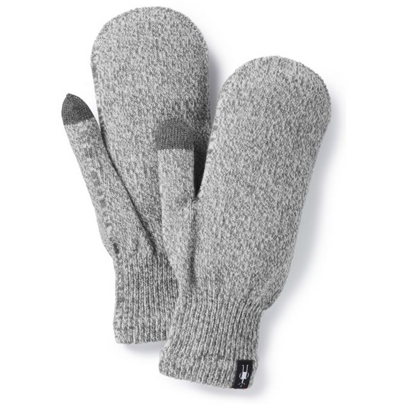 SmartWool Knit Mitt GREY
