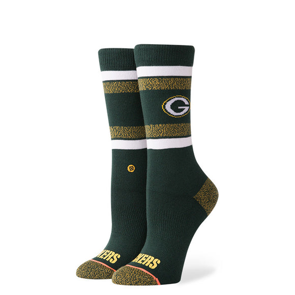 Stance Packers Crew Women's GREEN/GOLD