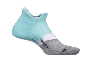 Feetures Elite Cushion No Show Tab PURIST BLUE