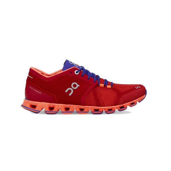 On Running Cloud X Women RED/BLUE