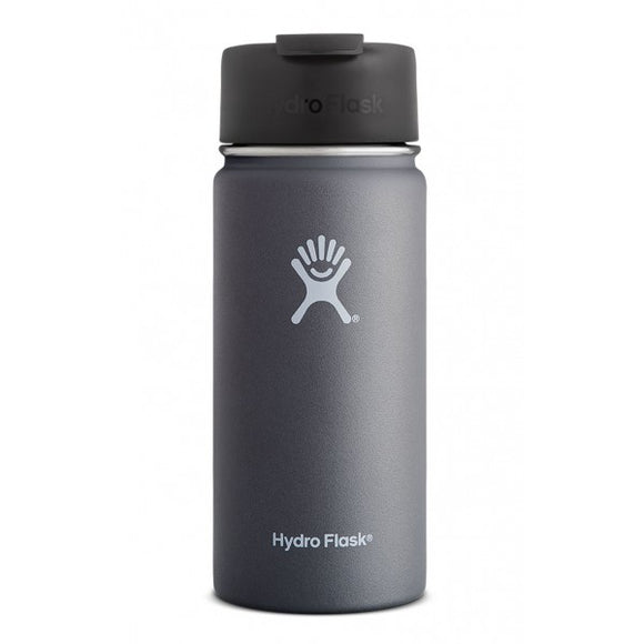 Hydro Flask 16oz Wide Mouth Flip Graphite