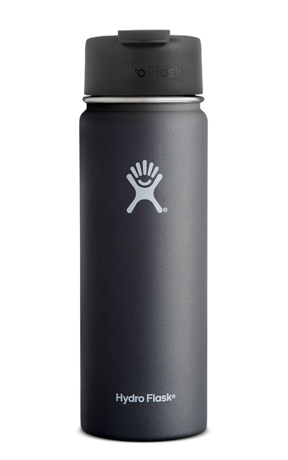 Hydro Flask 20oz Wide Mouth Flip BLACK