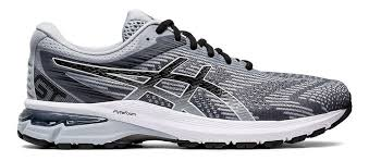 Asics Men's GT 2000 8 2E GREY/WHITE