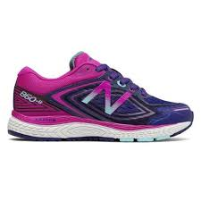 New Balance Girls 860 V8 NAVY/BERRY