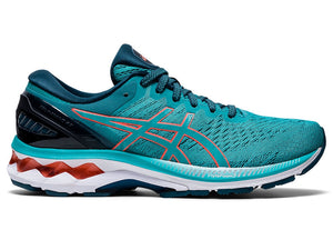 Asics Women's Kayano 27 CYAN/RED