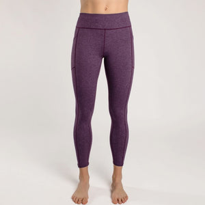 Oiselle Running, Inc Women Anywhere 3/4 Tight Empire/Mauve