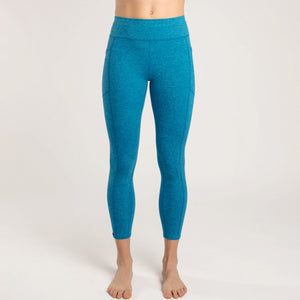 Oiselle Running, Inc Women Anywhere 3/4 Tight Pacific Blue