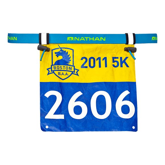 Nathan Sports Race Number Belt 2.0 BLUE
