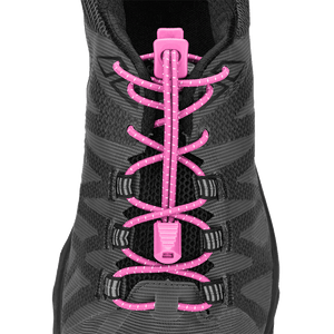 Nathan Sports Lock Laces HOT PINK