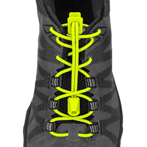 Nathan Sports Flat Lock Laces Yellow