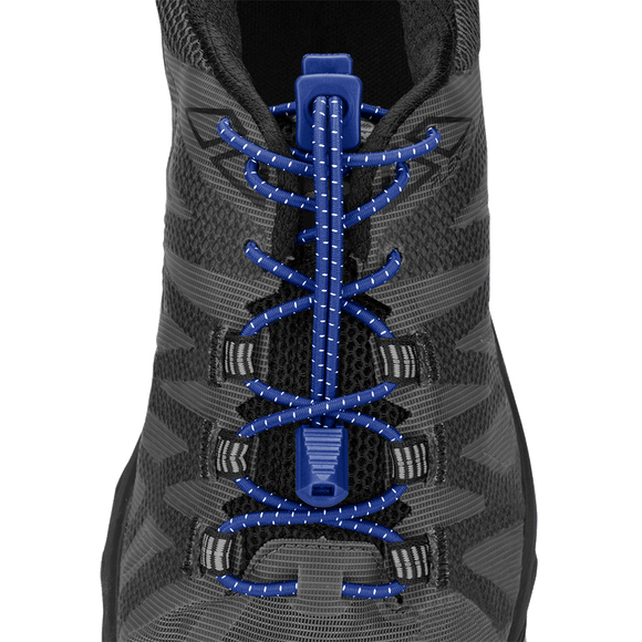 Nathan Sports Run Laces BLUE