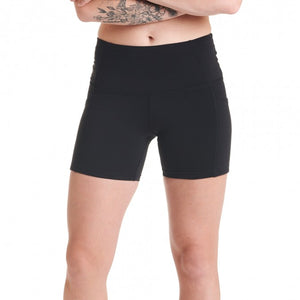 Oiselle Running, Inc Women Pocket Jogger Short BLACK