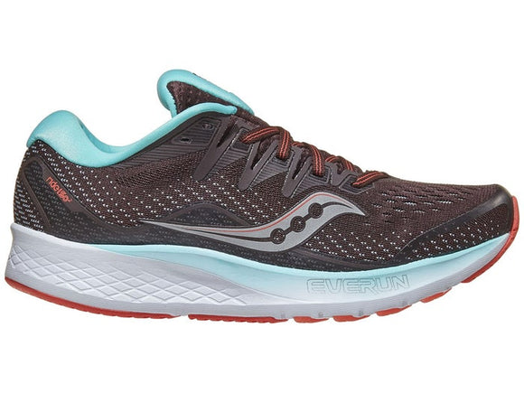 Saucony Women's RIDE ISO 2 Brown/Pink