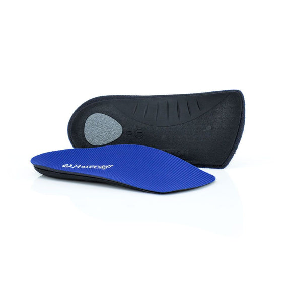 Powerstep SlimTech 3/4 Length BLUE