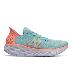 New Balance Women 1080 V10 BLUE/LEMON