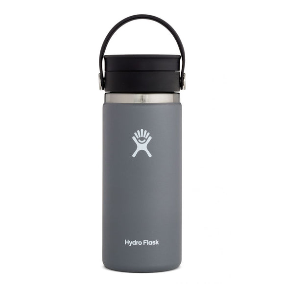 Hydro Flask 16oz Wide Mouth STONE