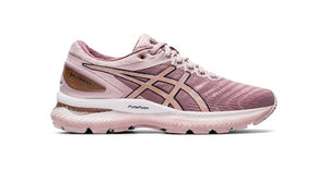 Asics America Corp Women GEL NIMBUS 22 Gold/Red