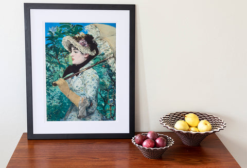 Manet Spring Getty Custom Print