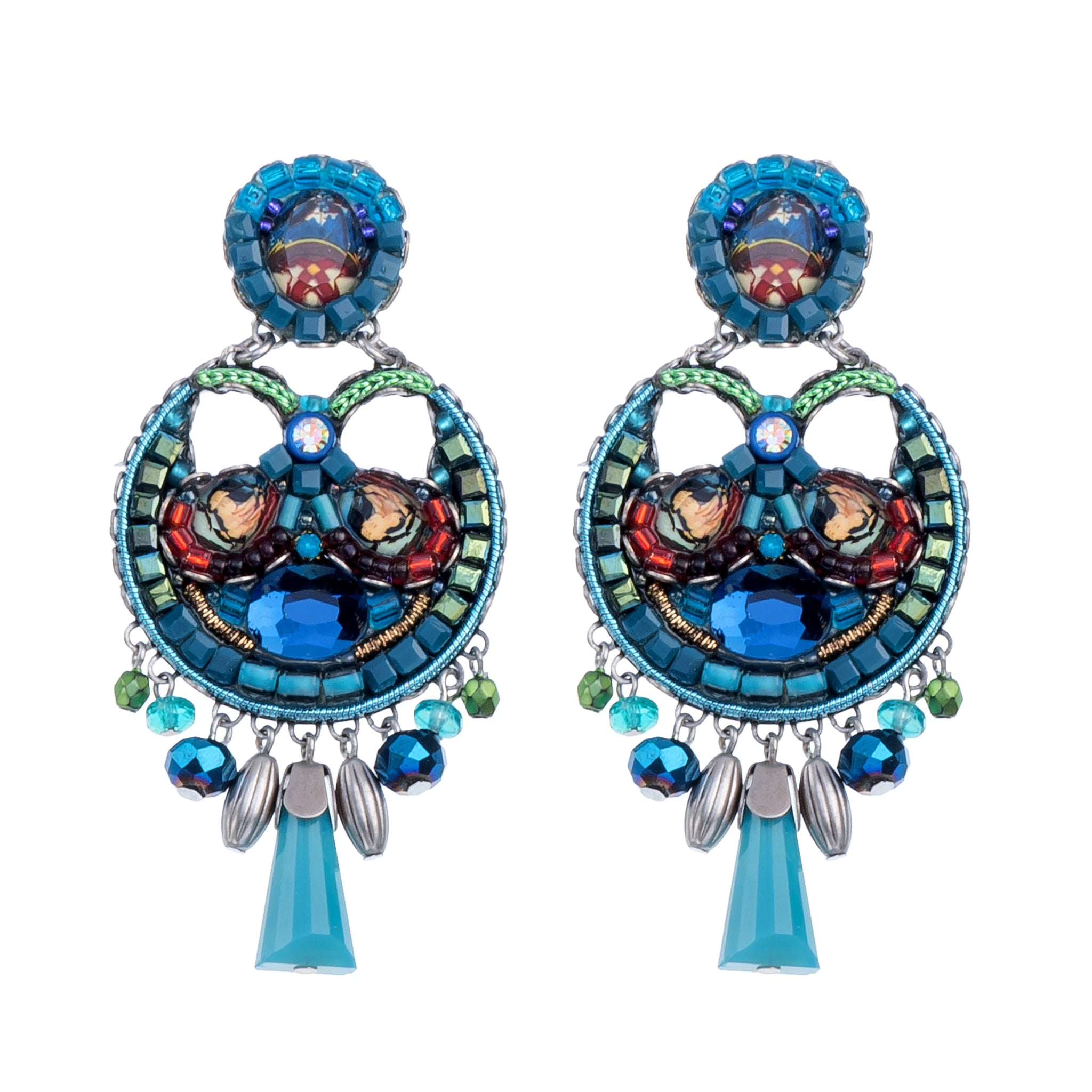 product fashion view architecture in bay shoal earrings