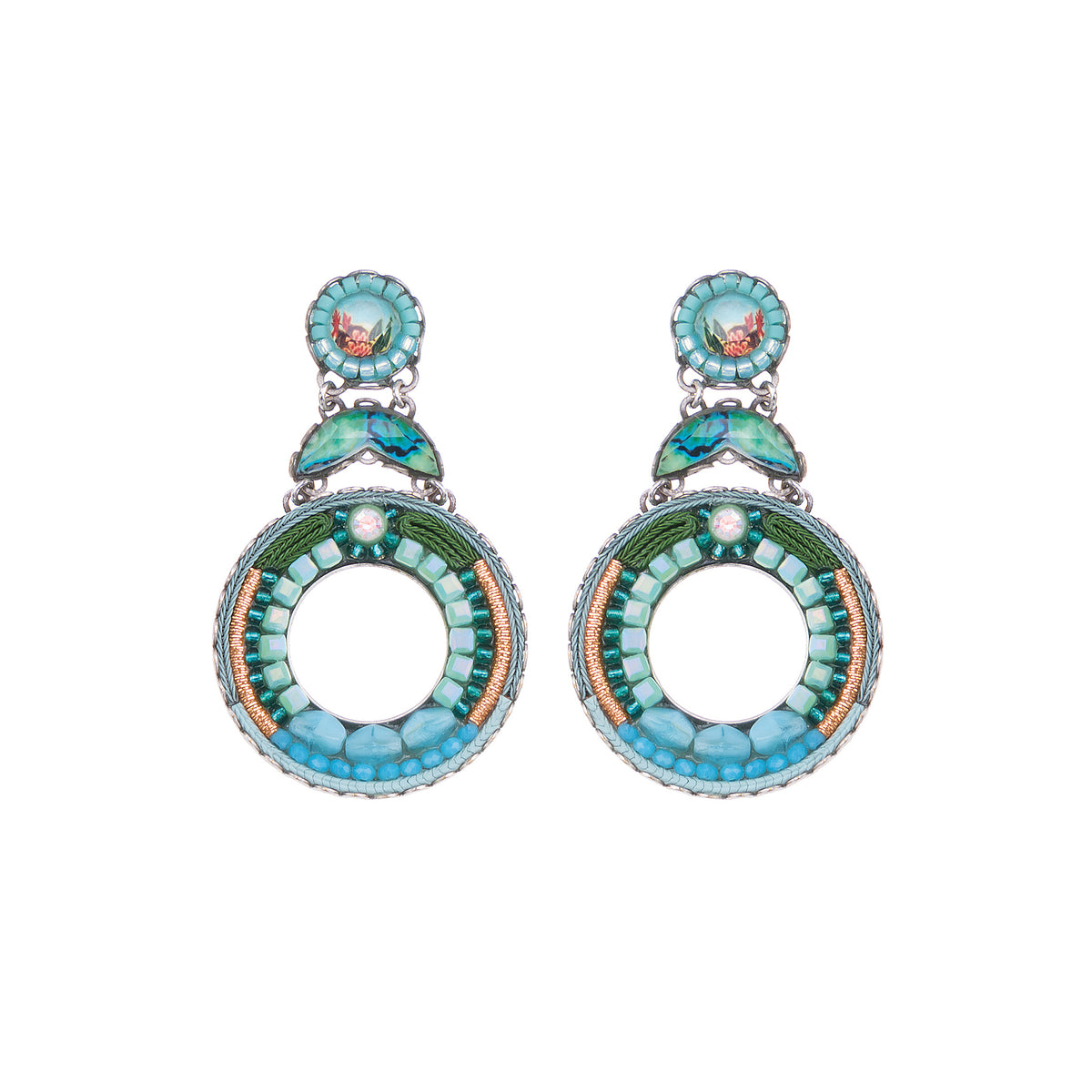 Clear Water Cornelia Earrings - Ayala Bar