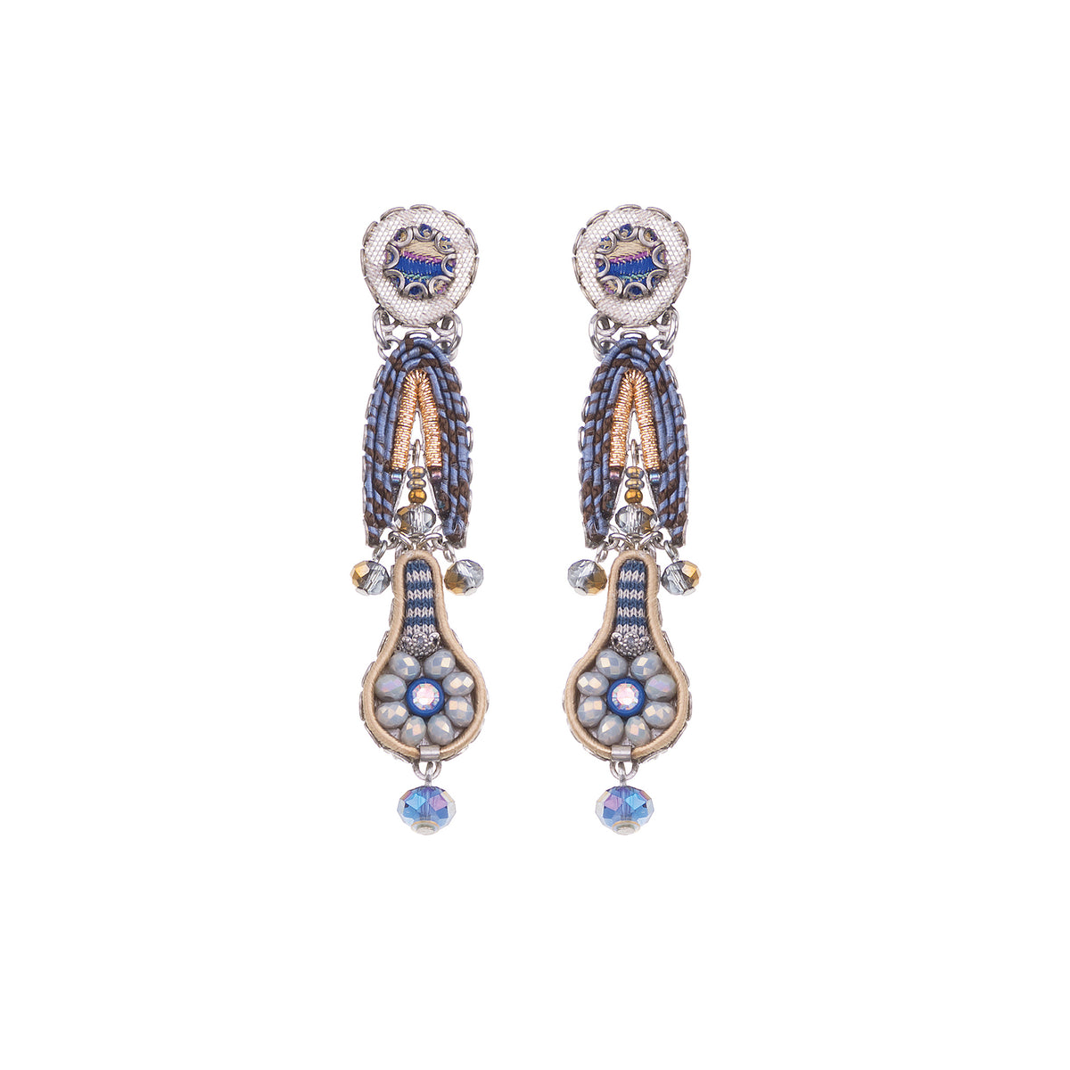Sapphire Waves Bluma Earrings - Ayala Bar
