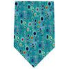 Klimt Silk Tie- Hope II in Turquoise | Getty Store