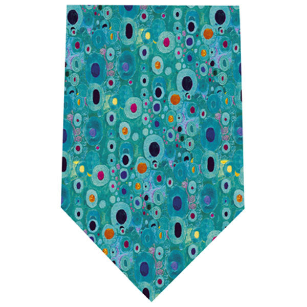 Klimt Silk Tie - Hope II in Turquoise