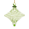 Handblown Egyptian Glass Ornament - Green