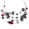 Contemporary Fabric Necklace