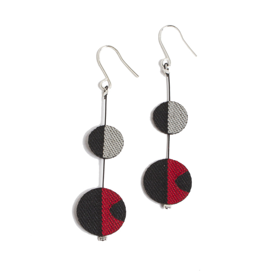 Contemporary Fabric Earrings