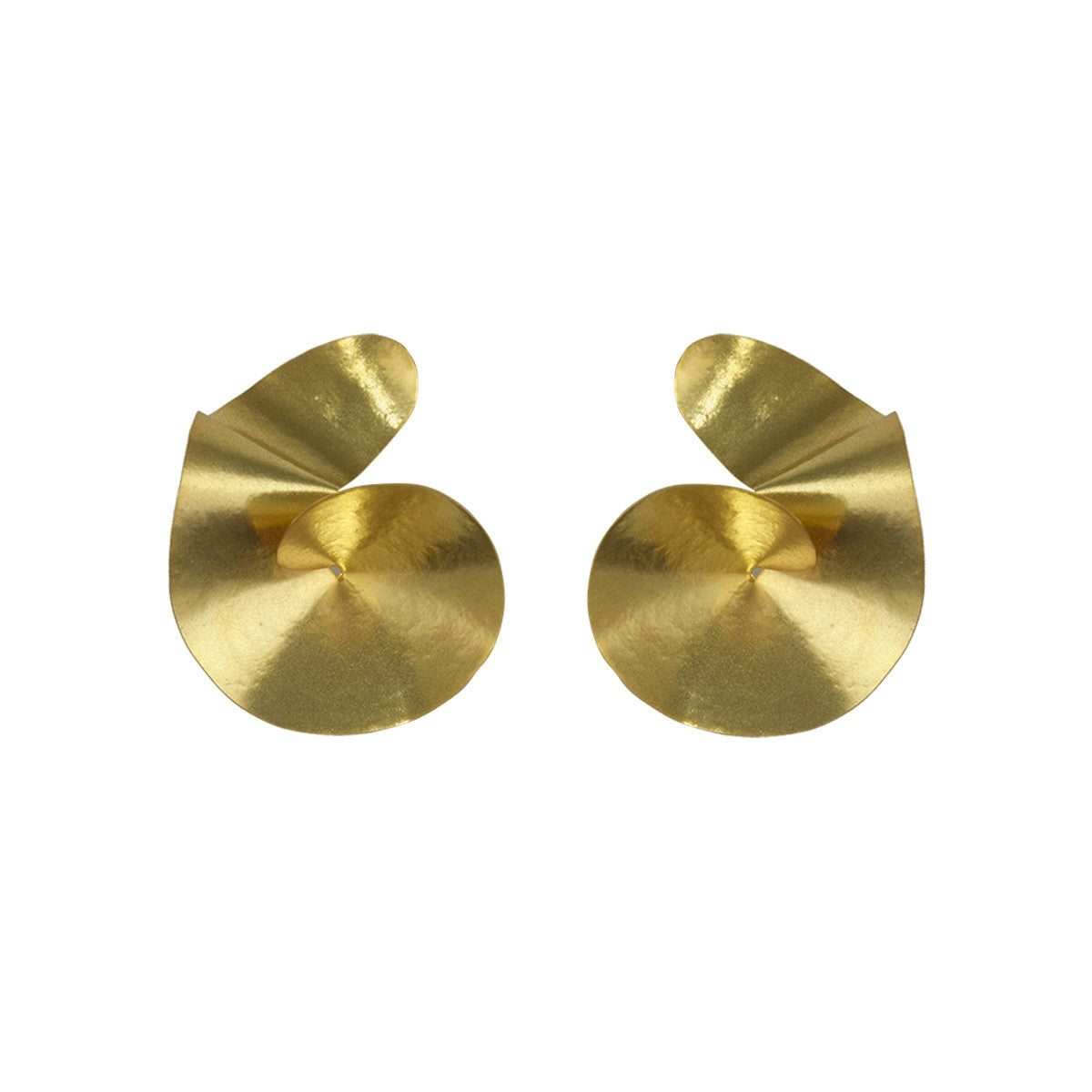 Mini Curl Earrings | Getty Store