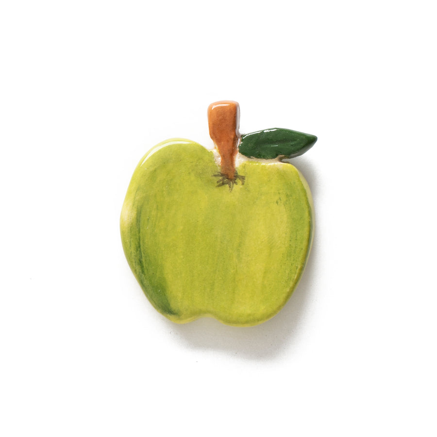 Apple Ceramic Pin