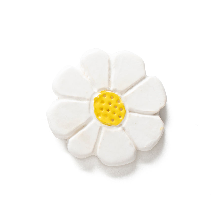 Daisy Ceramic Pin