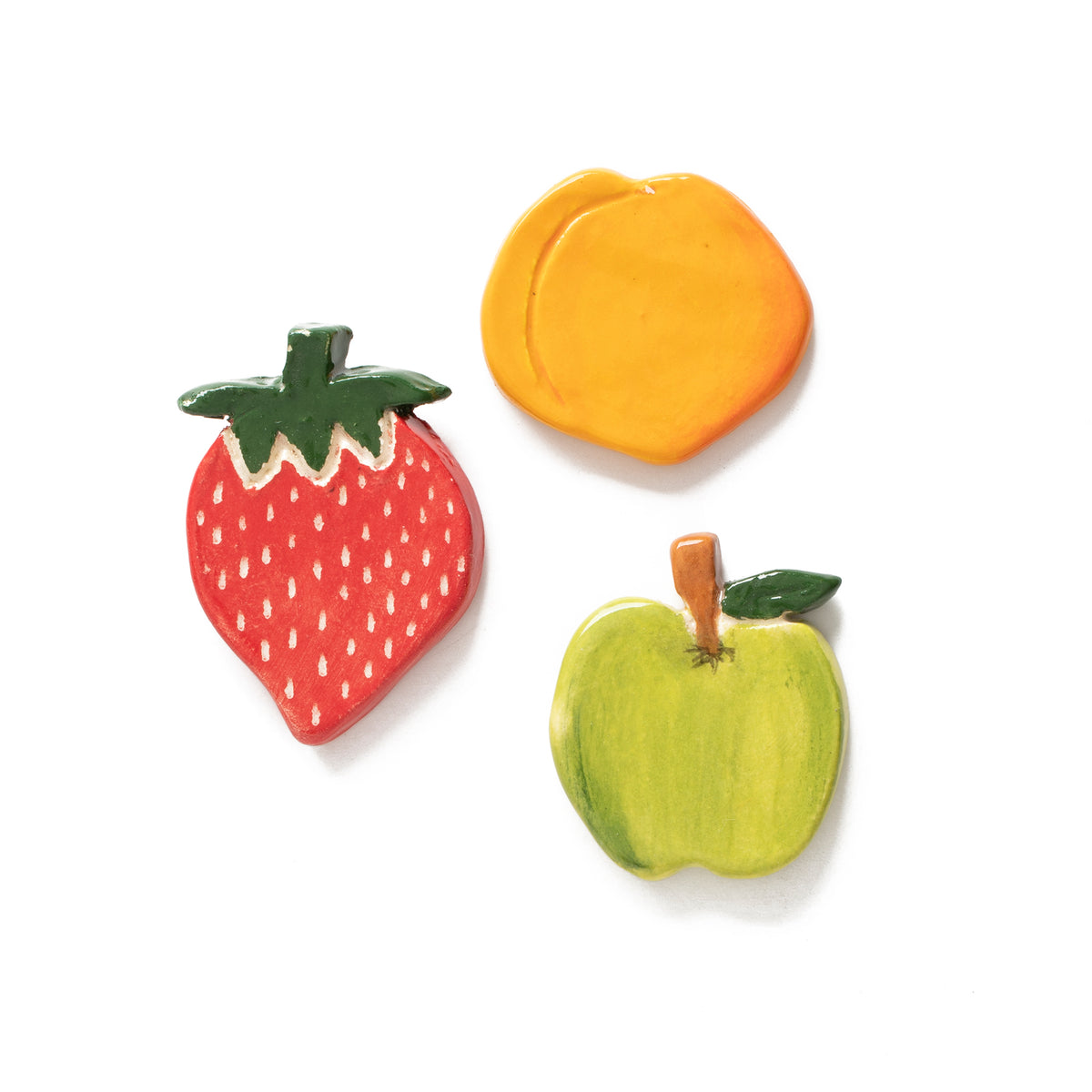 Fruit Ceramic Pin Set | Getty Store