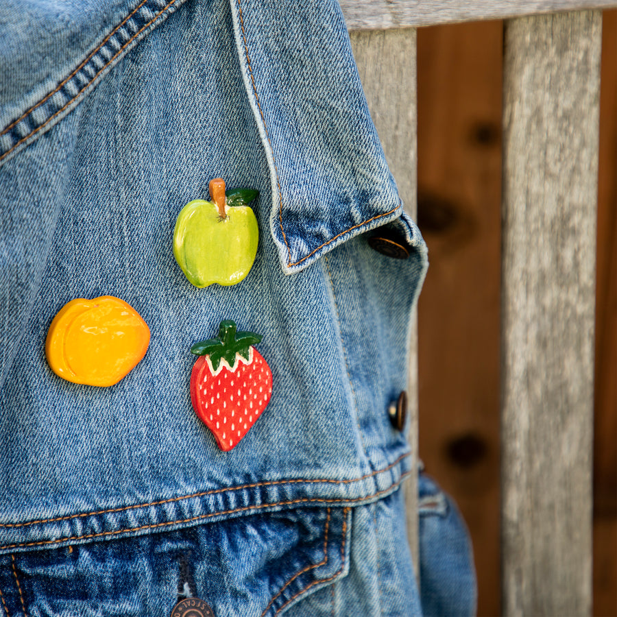 Fruit Ceramic Pin Set