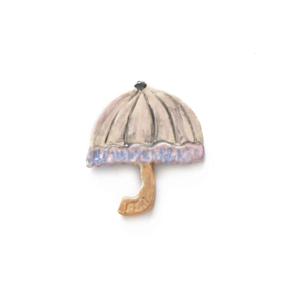Parasol Ceramic Pin | Getty Store