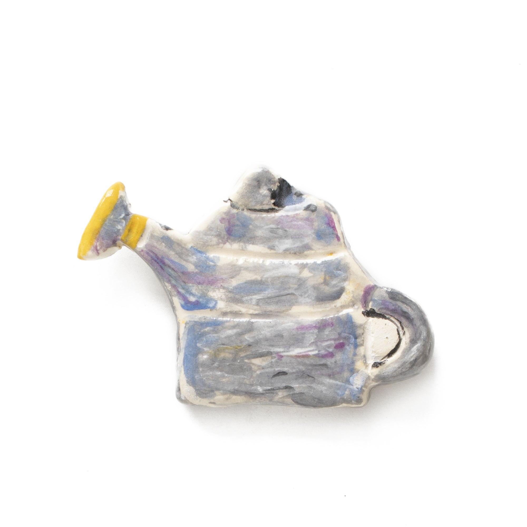 Watering Can Ceramic Pin
