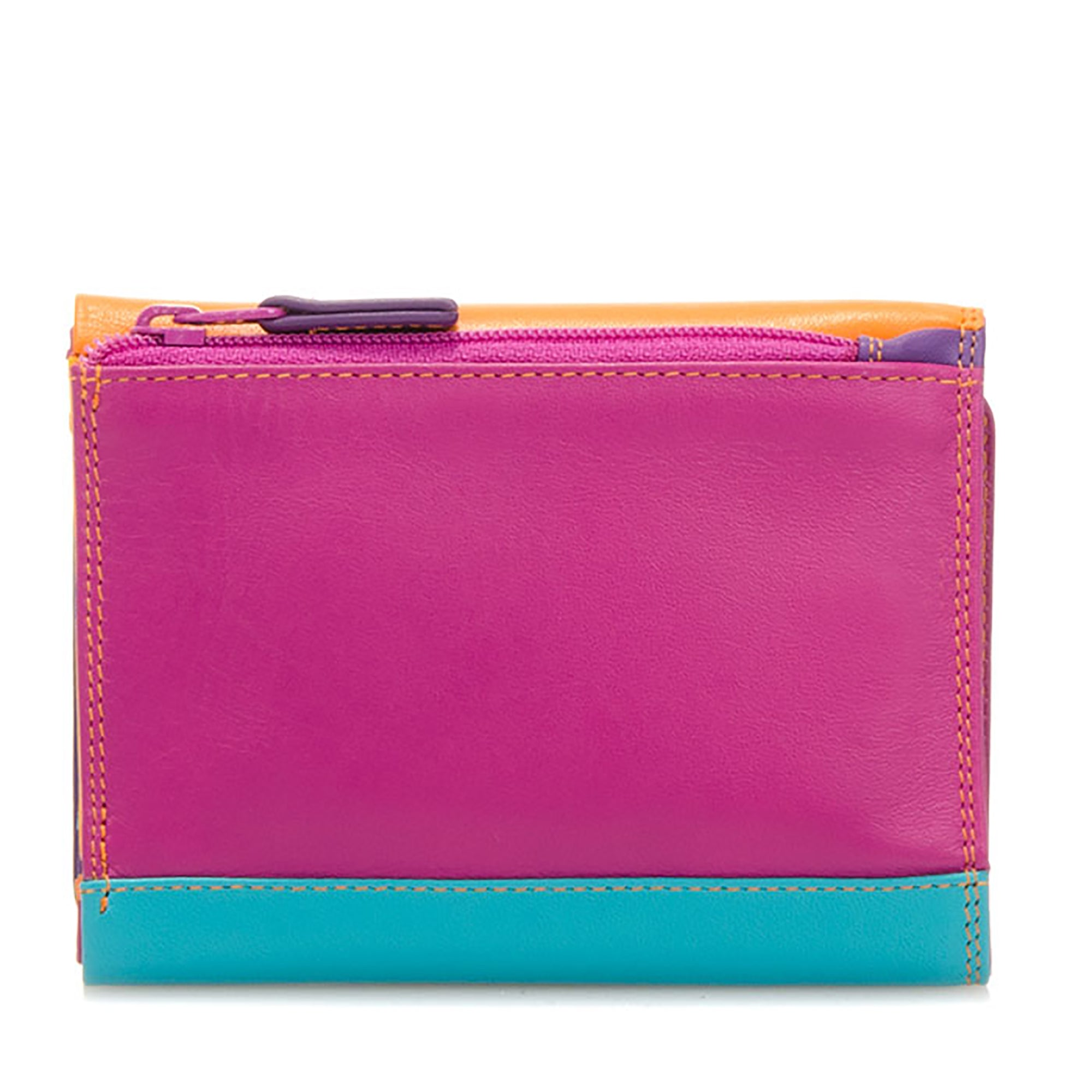 Colorful Leather Tri-Fold Wallet- Copacabana | Getty Store